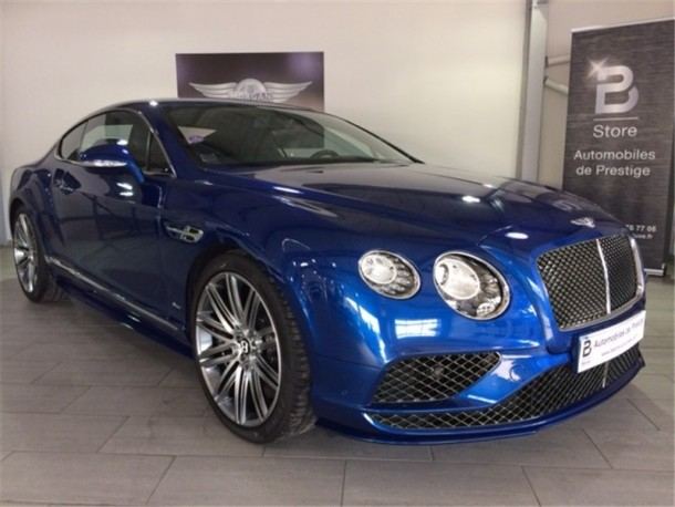 BENTLEY CONTINENTAL GT W12 SPEED 6.0 635 CH